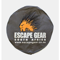 "Escape 33"" Spare Wheel Cover no Bin - Grey"