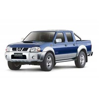 Navara D22 Dual Cab STR - (1998 - 2007) 2 fronts, solid rear bench