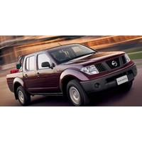 Navara Dual Cab ST-X (2008 - 2011); 2 fronts- 2 manual controls, 60/40 rear bench