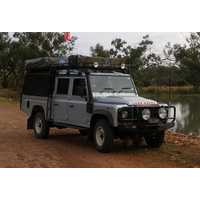 Hannibal 130 Crew Cab Long 3.5m Roof Rack