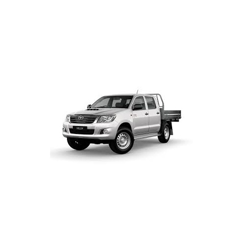 Hilux Dual Cab SR (11/2008 to present); 2 fronts with airbags